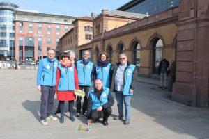 Team der Bahnhofsmission Erfurt